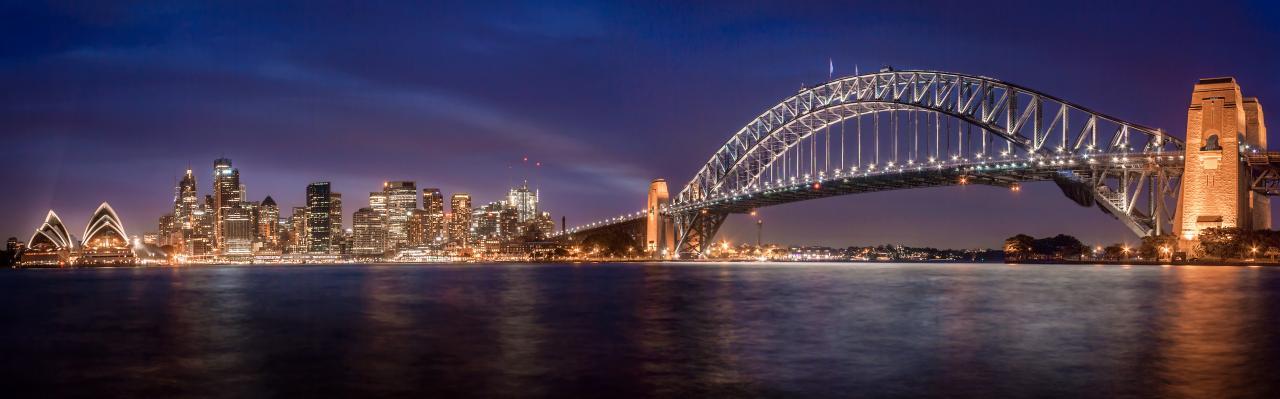City of Sydney and bridge
